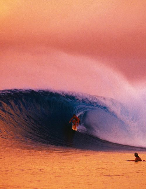 整った波とサーフィン
