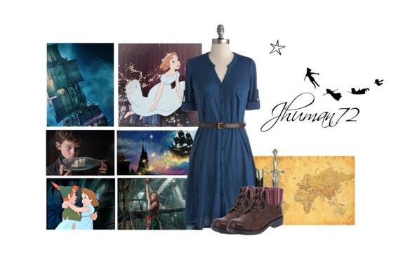 """Peter Pan"" by jhuman72 ❤ liked on Polyvore"