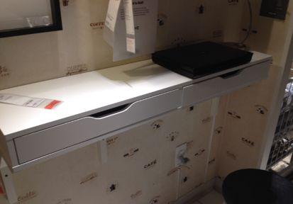 wall desk desks and alex o 39 loughlin on pinterest. Black Bedroom Furniture Sets. Home Design Ideas