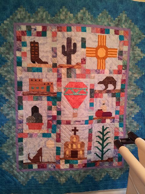 #Southwest Quilt by Janet Heher, via Flickr.