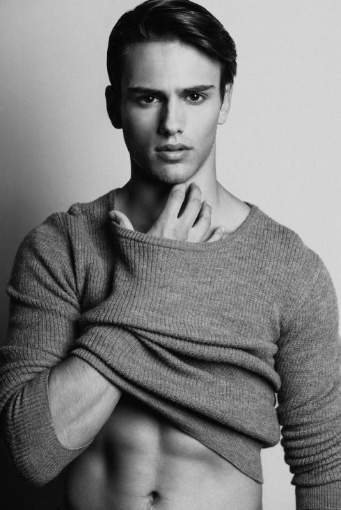 Sergio Carvajal by Fernando Gomez : Abercrombie & Fitch's latest face (and body)  -  Seriously, this guy is nearly perfect!