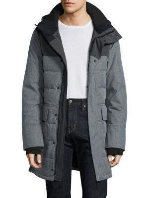 CANADA GOOSE Filled Parka Jacket. canadagoose cloth jacket