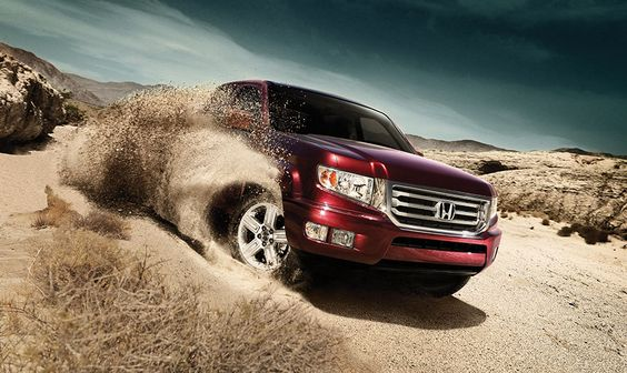 Mess around in the dirt with your Honda Ridgeline! http://www.driveclassichonda.com/