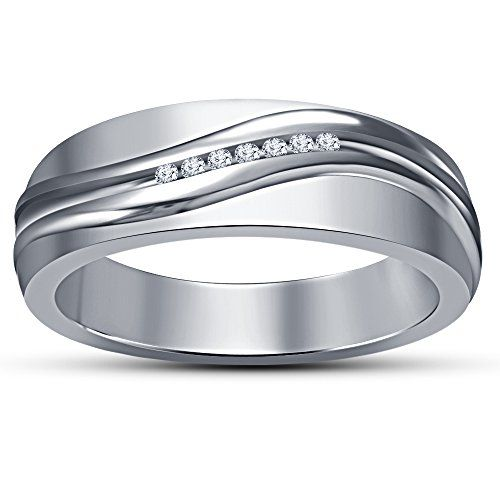 Tvs Jewels White Gold Plated Real 925 Sterling Silver Men Https Www Amazon Ae Dp B083bnr26k Ref Cm Sw R Pi Dp U Silver Mens Band Rings For Men White Gold