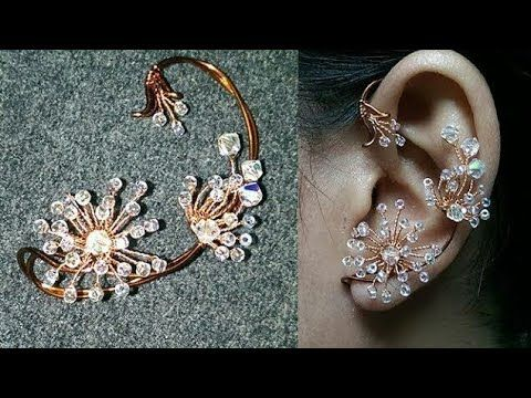 Cymbidium Orchid Copper Flower 3d Pendant Mặt Day Chuyền Hoa Lan 273 Youtube Ear Cuff Ear Cuff Tutorial Copper Jewelry Handmade