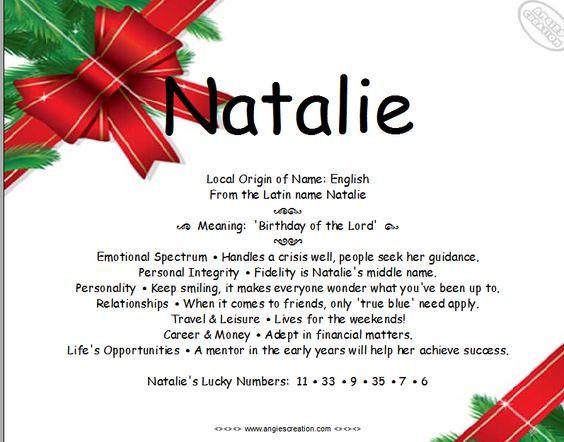 Natalie (given name) - Wikipedia