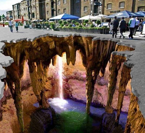3D street art by Edgar Muller | wordlessTech