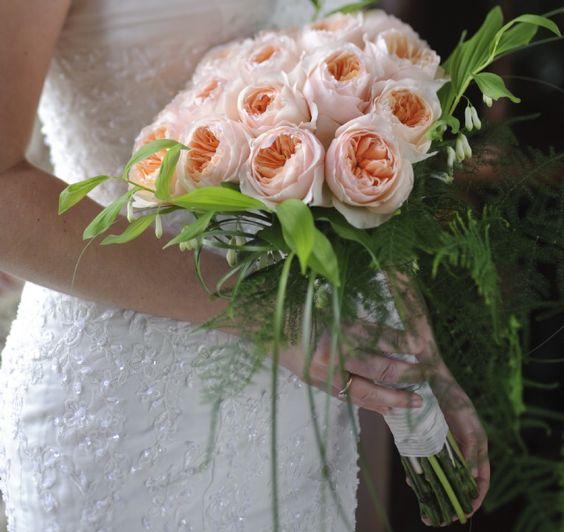 David Austin bouquet.