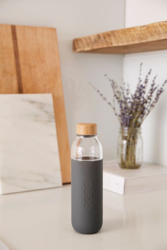 Soma's Glass Water Bottle