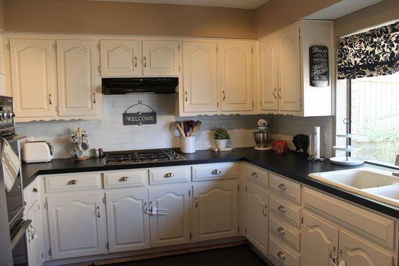 Diy countertops countertop redo and chalkboards on pinterest - Diy redo kitchen countertops ...