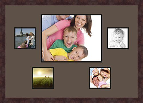 Art To Frames Double Multimat 127 119 89 Frbw26061 Collage Frame Photo Mat Double Mat With 4 5x5 And 1 11x14 Openings In 2020 Collage Frames Photo Matting Photo Frame