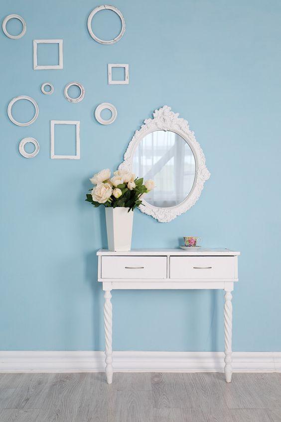 10 objets et meubles pour donner un esprit boudoir chic à une entrée - M6 Deco.fr