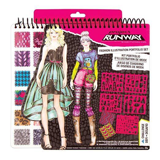 Fashion Angels Project Runway Portfolio Fashion Design For Kids Fashion Angels Project Runway