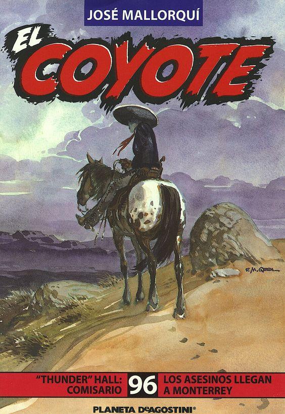 """""""Thunder"""" Hall, comisario; Los asesinos llegan a Monterrey. Ed. Planeta DeAgostini, 2002 (Col. El Coyote. 96)"""