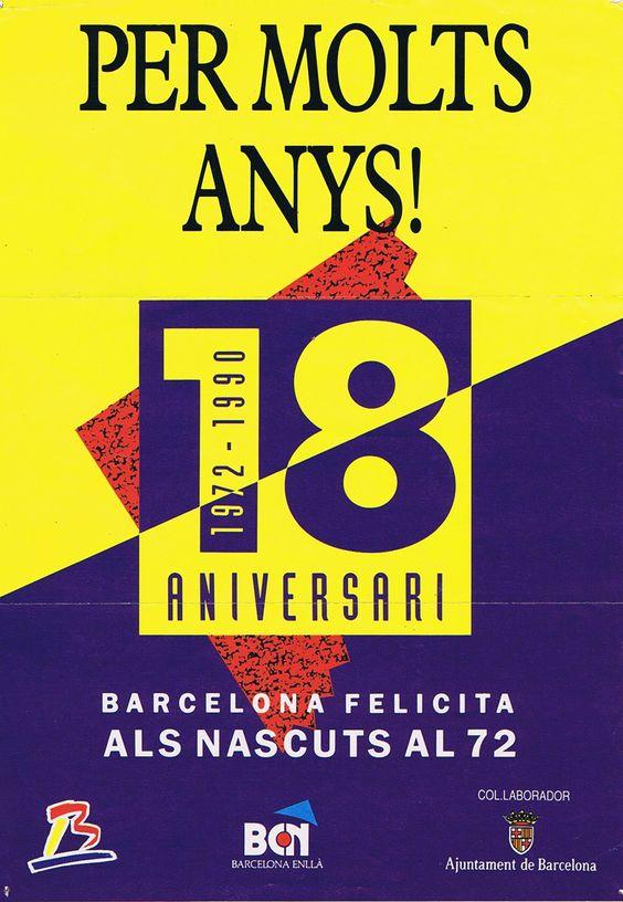 Felicitacion Aniversario Ajuntament de Barcelona AlejandroPI