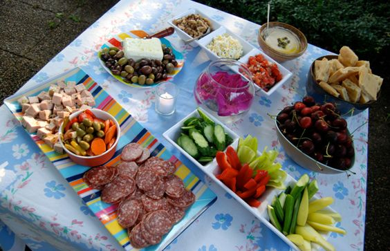 Summer Party Food In My Backyard Including Recipe For Fresh Ricotta From One Tomato Two