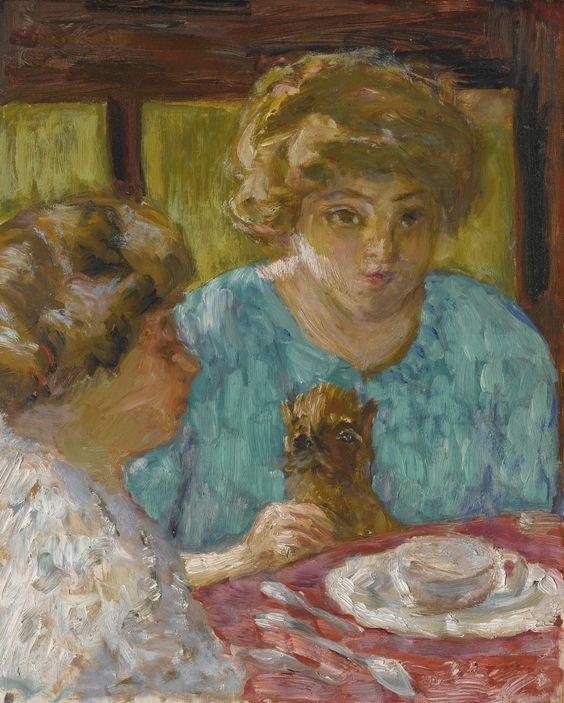 bonnard, pierre deux dames avec chat | figures | sotheby's n09498lot63vn9en: