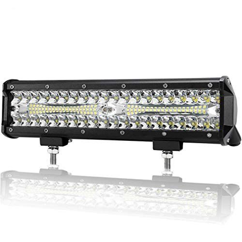12 Inch Led Light Bar 12 Volt Led Lights Spot Flood Combo Beam Triple Row Light Bar Off Road Driving Led Work Led Trailer Lights Led Light Bars Led Work Light