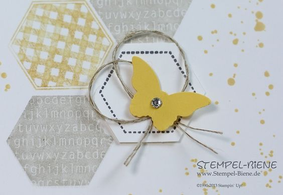 Stempel-Biene: Stampin' Up! Six-Sided Sampler und Gorgeous Grunge