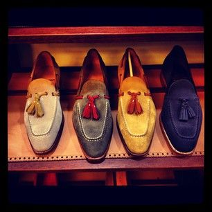 Carmina Greatness!!!!!! – The Shoe Snob Blog #tassel #loafers