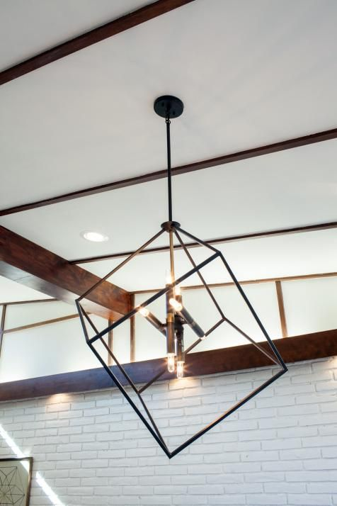 A Fixer Upper Take On Midcentury Modern. Dining Room Light ...