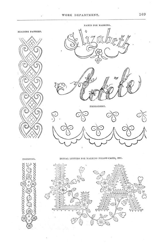 Antique Embroidery Patterns
