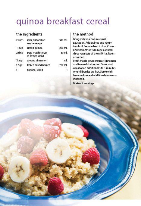 ... breakfast quinoa bowls oatmeal unsweetened coconut milk milk quinoa