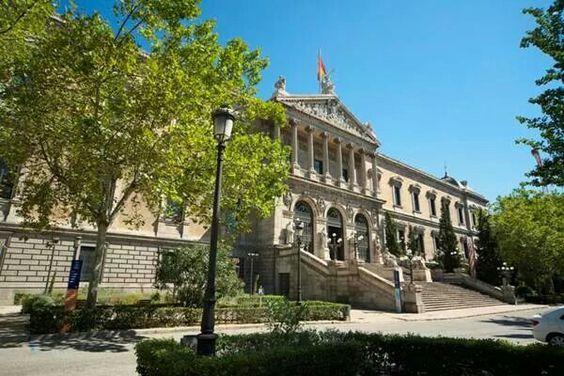 Biblioteca nacional, paseo de recoletos