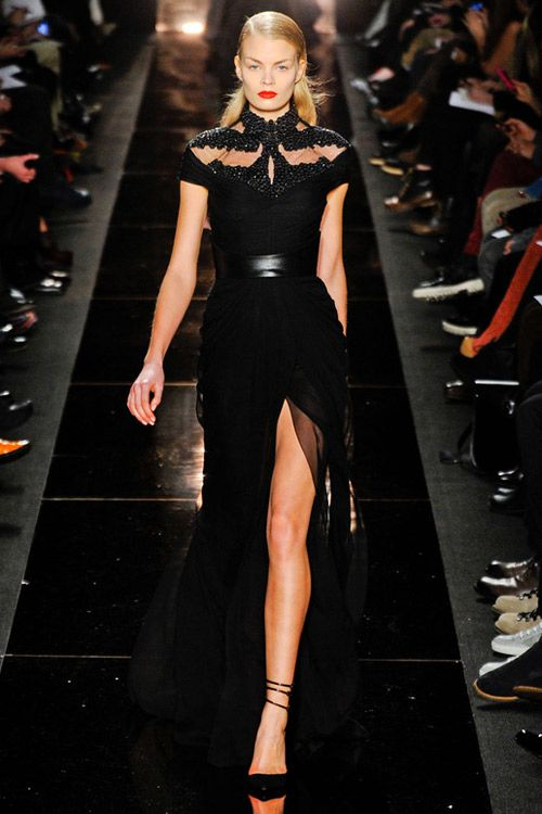 Monique Lhuillier Fall-Winter 2012.