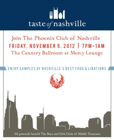 Taste of Nashville  11/9/12