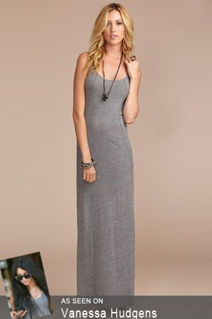 I LOVE this!!! Daftbird Maxi Dress in Heather Gray | My Style ...