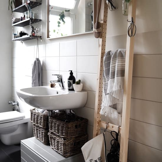 10 Ikea Hacks That Were Made For Small Bathrooms Tiny Bathroom