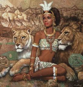 Queen Kahina Died in 705 AD. Fought against the ARAB  incursion in N. Africa: