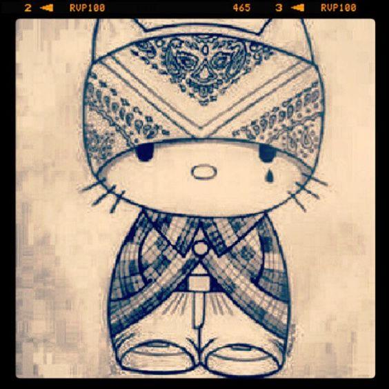 Ese Kitty #hellokitty #kittygang #hellokittygang #cholo # ...