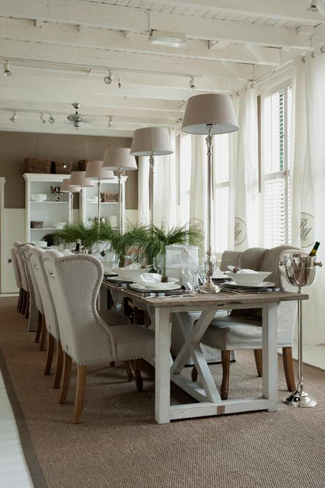 Keith Wing dining chairs, Riviera Maison: