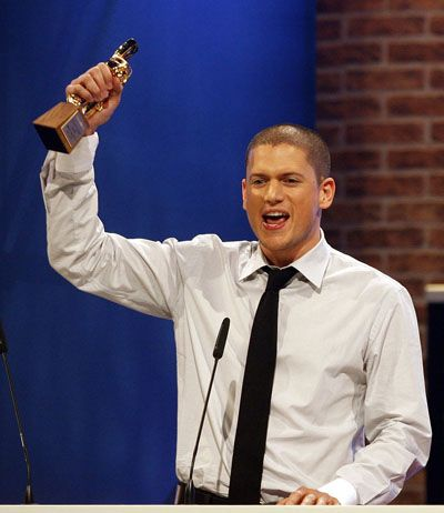 Wentworth Miller won Bravo Otto award for Best Male TV Star in 2007 during the Bravo Supershow in Nuremberg, Germany