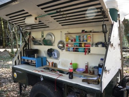 Our easter camping trip the cornwall rv 2013 trips for Outdoor camping kitchen ideas