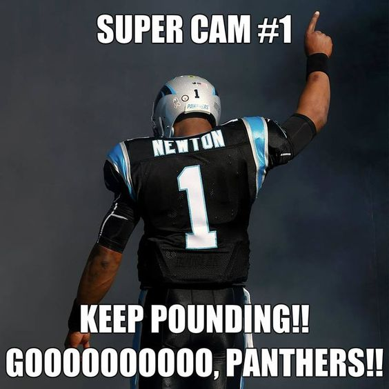 Men's Nike Carolina Panthers #1 Cam Newton Black Drenched Limited NFL Jersey