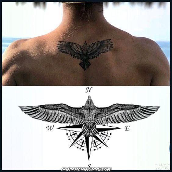 Pin De Borey Njr En Borey Tatuaje De Ala Para Hombres Mangas Del Tatuaje Tradicionales Tatuajes Creativos