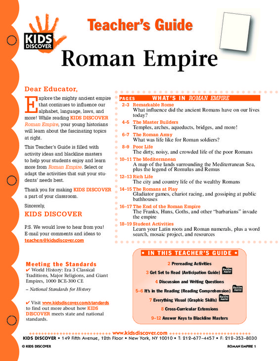 History of the Roman Empire