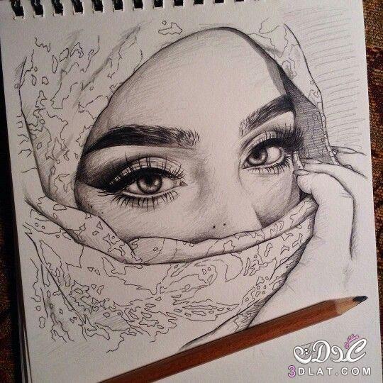 صور بنات مرسومة بالقلم الرصاص روعه رسومات بالرصاص Art Drawings Art Sketches