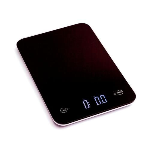 Ozeri Touch Professional Digital Kitchen Scale 12 Lbs Edition Tempered Glass In Elegant Black Lowes Com Digital Kitchen Scales Kitchen Scale Digital Scale