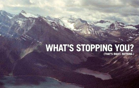 There's nothing stopping your progress! #Inspiration