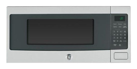 Ge Profile Series 1 1 Cu Ft Mid Size Microwave Stainless