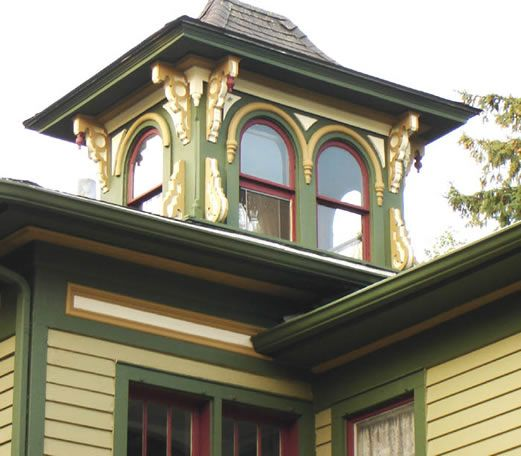 The Roof Window Trims And House Colors On Pinterest