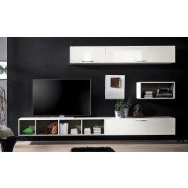 arredamento soggiorno moderno in legno idee arredo soggiorno ...