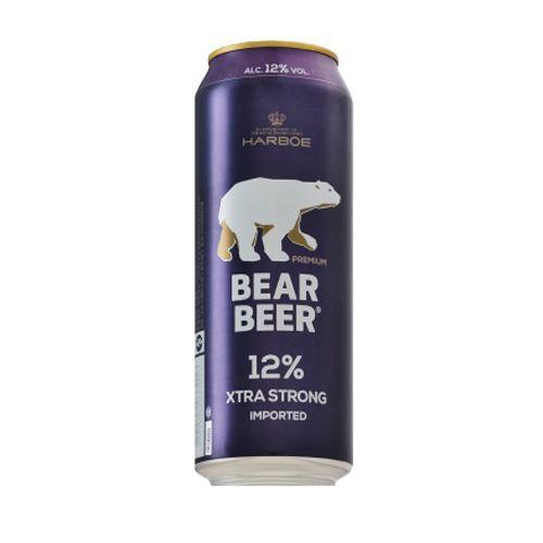 Bia Gấu Bear Beer Extra Strong 12% - Lon 500ml