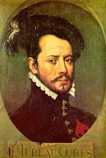 Hernon Cortes (1485-1547) was a classic Spanish conquistador who came from lesser nobility and was the first generation Spaniards involved in the conquest of the Americas.: