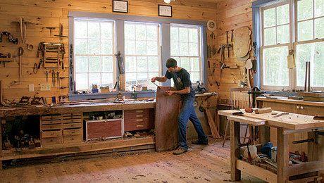 Freestanding Dream Shop - FineWoodworking
