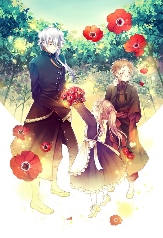 Pandora Hearts: Break, Sharon, and Reim